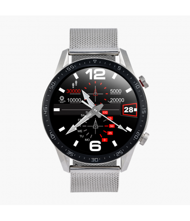 Watchmark - Outdoor WL13 srebrny mesh